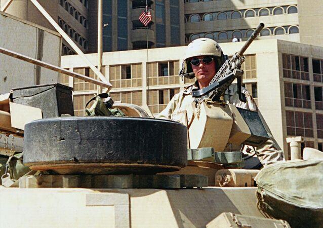 القوات الأمريكية في العراق