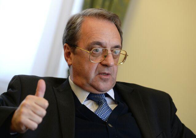 نائب وزير الخارجية الروسي ميخائيل بوغدانوف