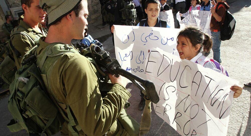 أصغر أسيرة فلسطينية