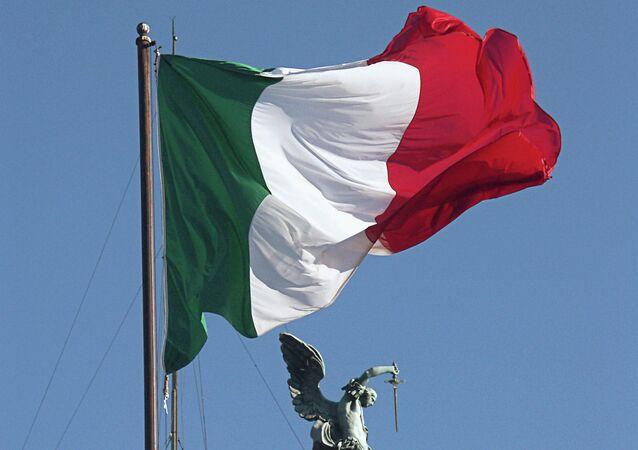 العلم الإيطالي