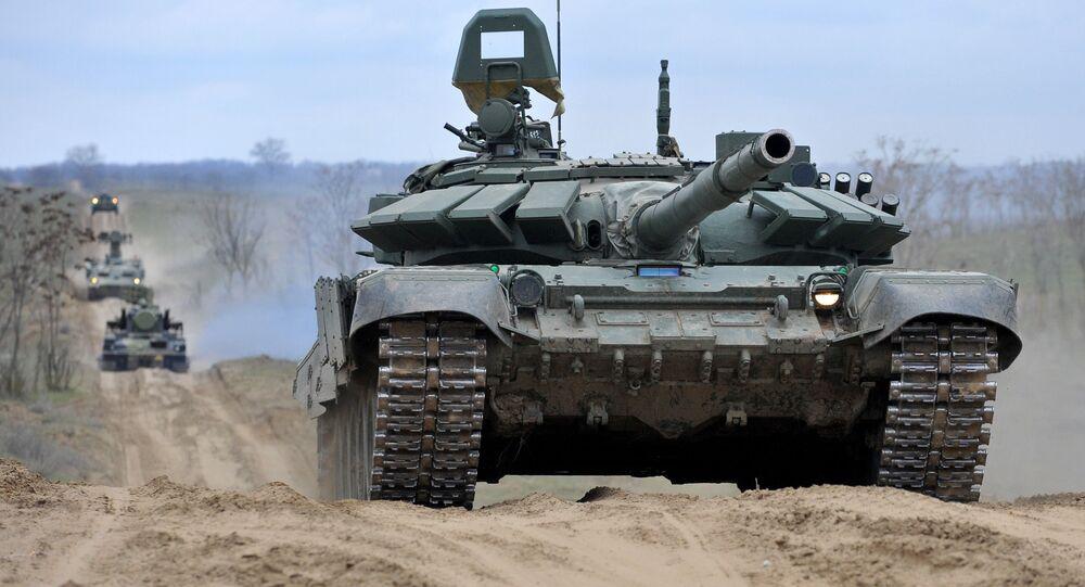 تدريب الجيش الروسي