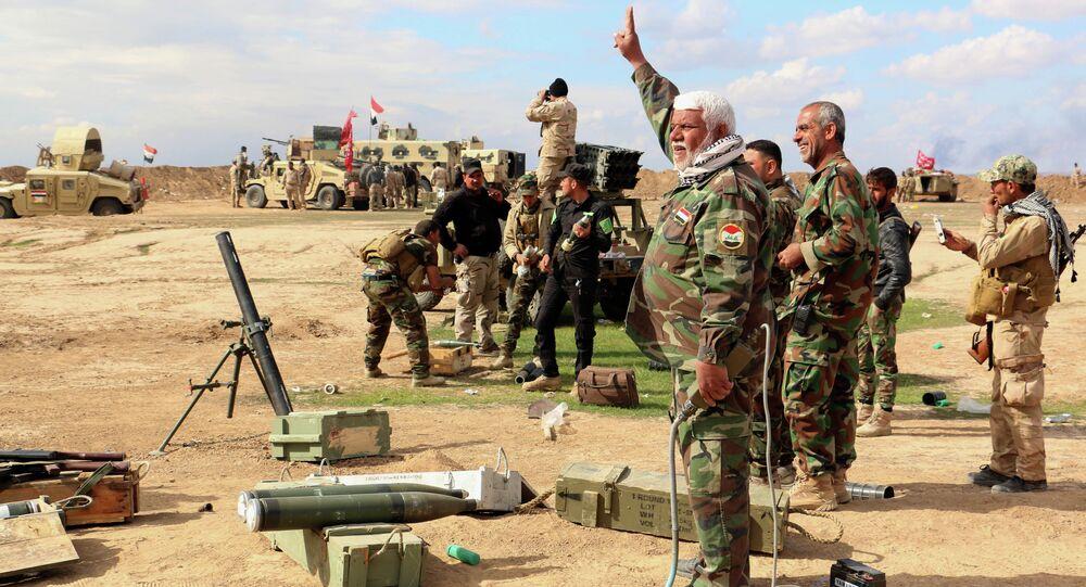 الجيش العراقي ومتطوعين