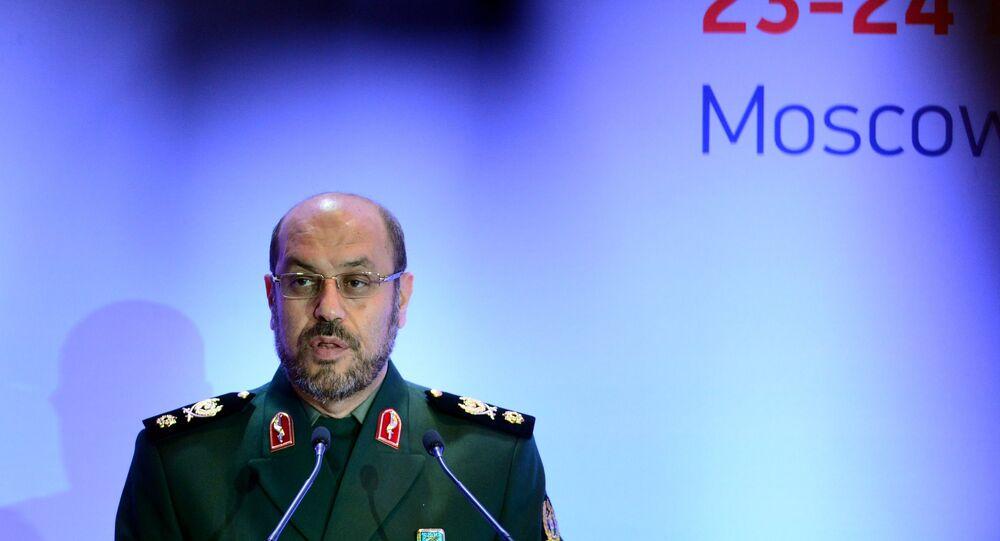 وزير الدفاع الإيراني حسين دهقان