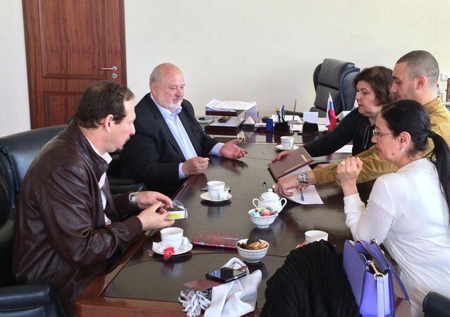 تعزيز التعاون السينمائي بين مصر وروسيا