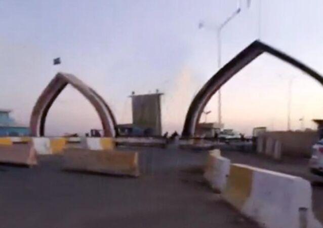 معبر طريبيل الحدودي مع الأردن.