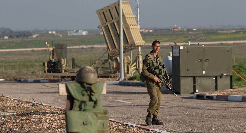جندي إسرائيلي في الجولان