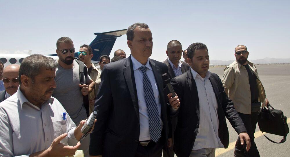 المبعوث الأممي إلى اليمن إسماعيل ولد الشيخ