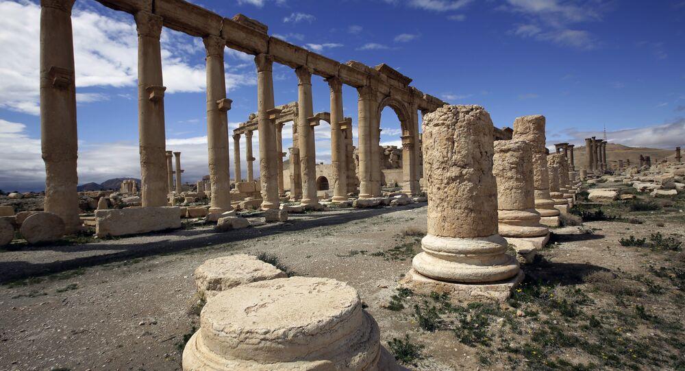 مدينة تدمر فى سوريا