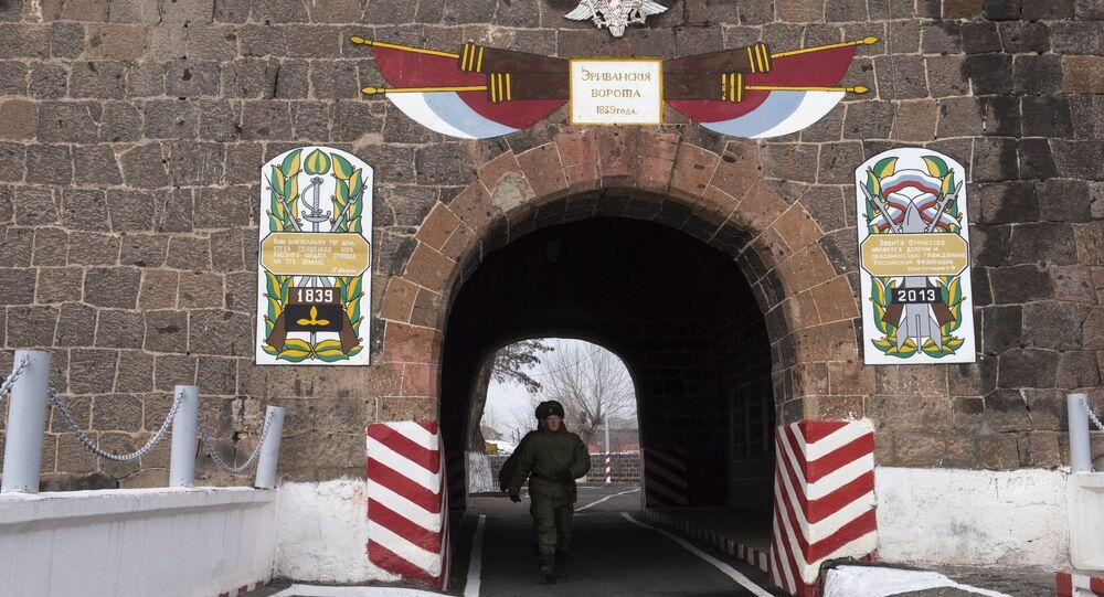 قاعدة عسكرية روسية في أرمينيا