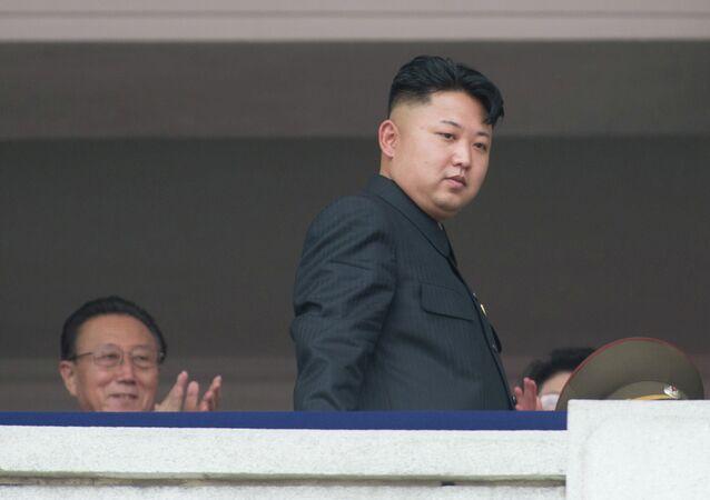 الزعيم الكوري كيم جونغ اون