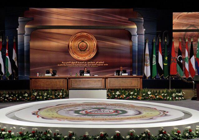 اجتماع جامعة الدول العربية