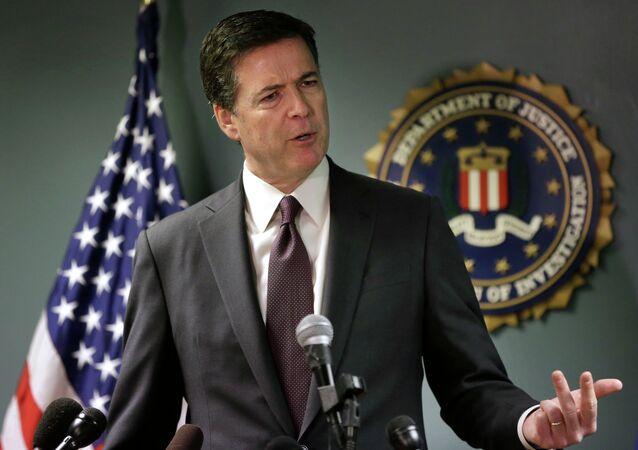 مدير مكتب التحقيقات الفيدرالي الأمريكي، جيمس كومي