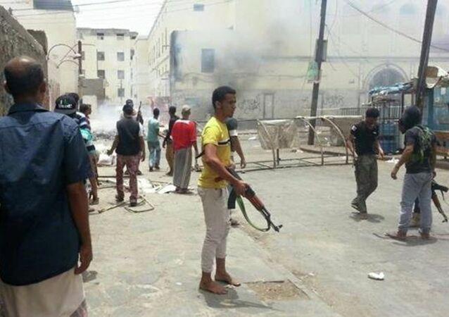 المعارك في عدن