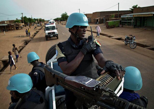قوات الأمم المتحدة في مالي