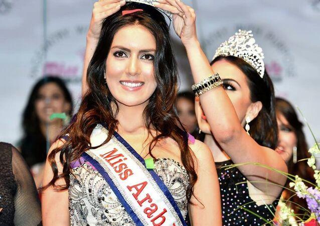 ملكة جمال السورية  فابيولا الابراهيم