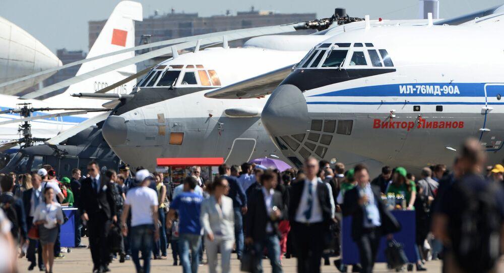 افتتاح معرض ماكس 2015 الدولي للطيران