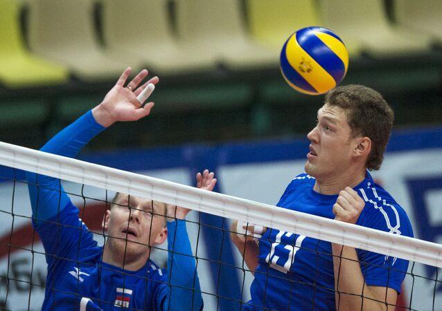 المنتخب الروسي لكرة الطائرة للرجال
