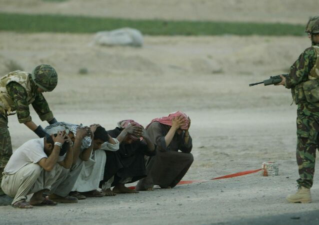 الجيش البريطاني في العراق