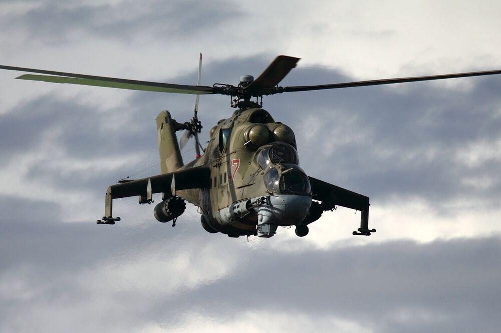المروحية الهجومية مي- 24