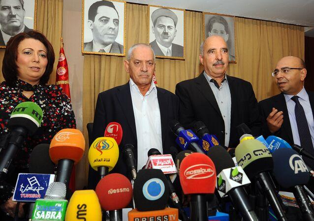 الرباعي الراعي للحوار الوطني التونسي