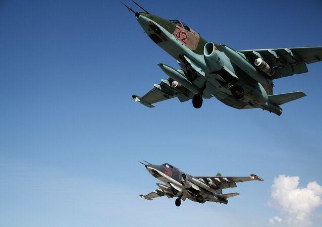 طائرات حربية روسية في سوريا