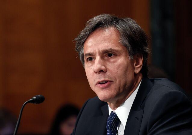نائب وزارة الخارجية الأمريكي أنتوني بلينكن