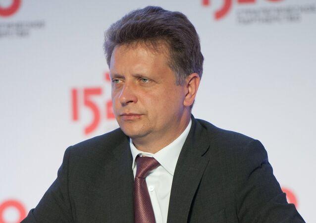 وزير النقل الروسي مكسيم سوكولوف