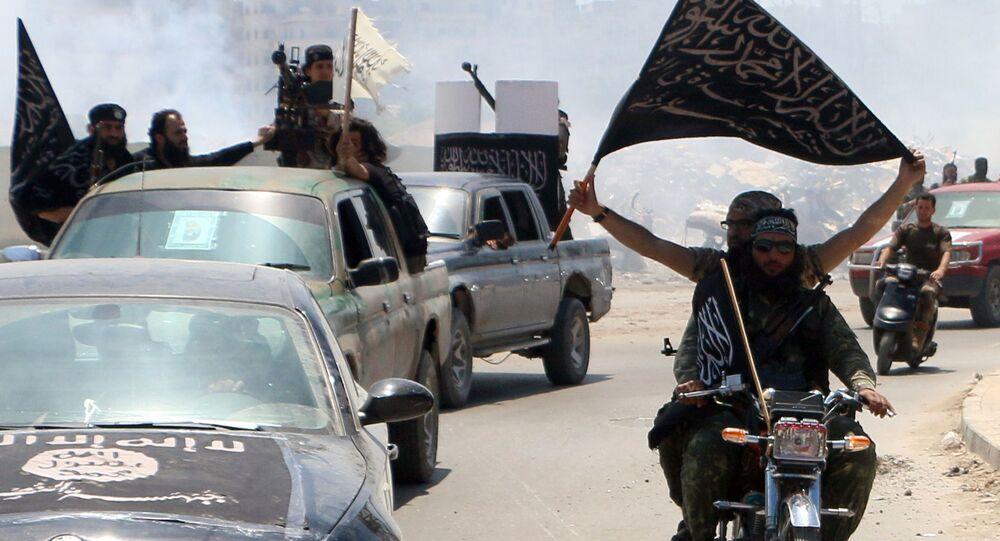 مسلحون من تنظيم القاعدة