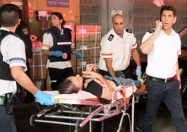 بعد اعتداء فلسطيني على مصلين في تل أبيب في إسرائيل