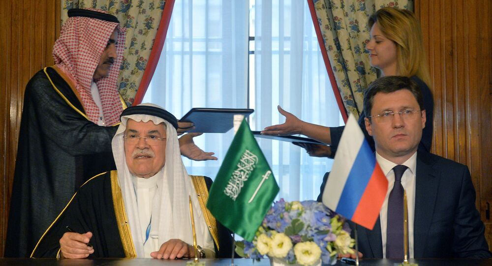 توقيع اتفاقيات تعاون بين وزارة الطاقة الروسية ووزارة النفط السعودية