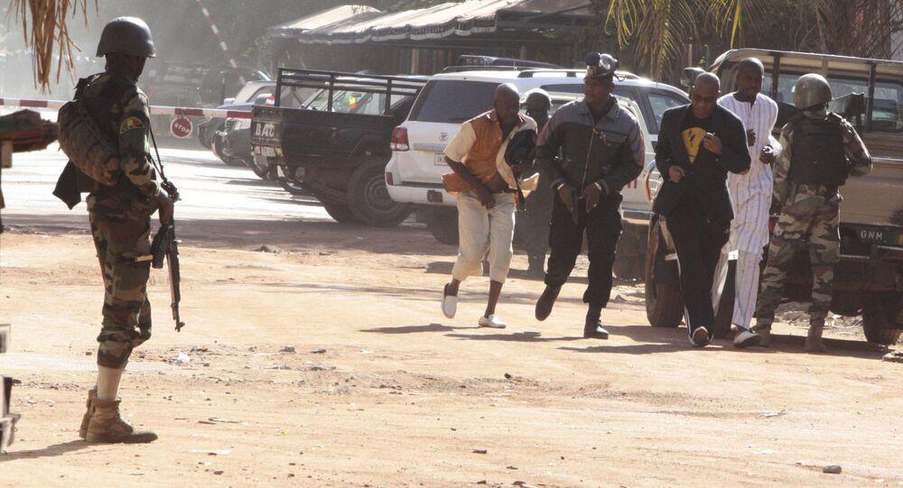 احتجاز رهائن في مالي
