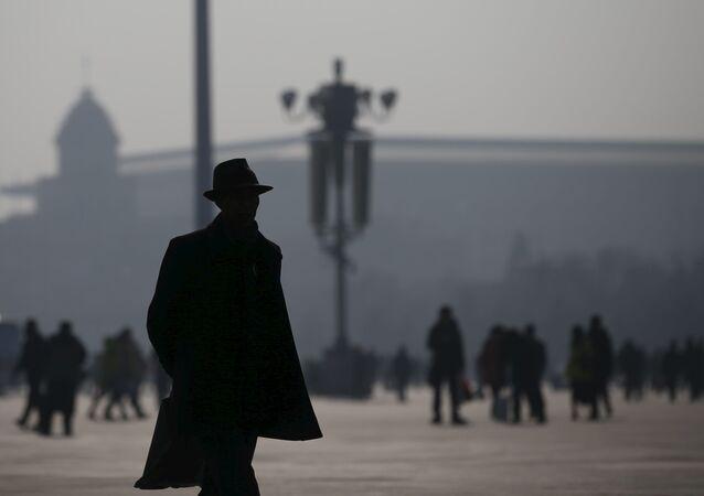 موجة من تلوث الهواء في بكين