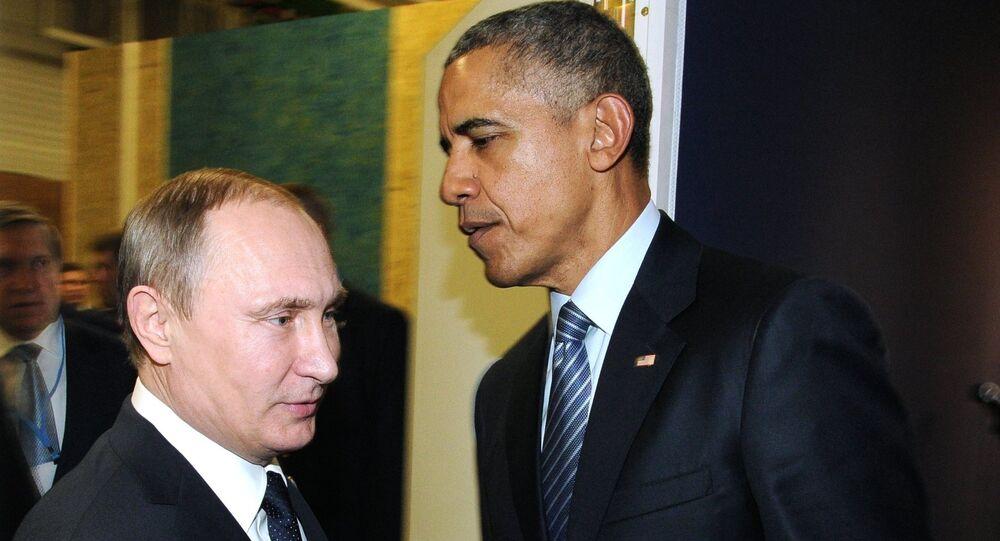 لقاء بوتين - أوباما على هامش قمة المناخ