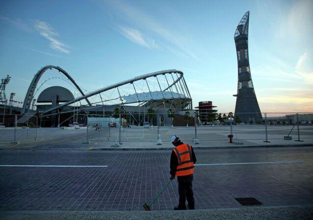 العمال الأجانب في قطر