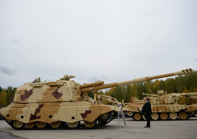 معرض أسلحة روسية