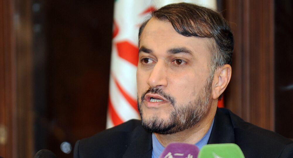 مساعد وزير الخارجية الإيراني أمير عبداللهيان