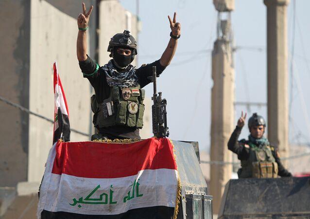 الجيش العراقي يحرر الرمادي
