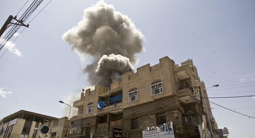 غارات التحالف العربي على اليمن