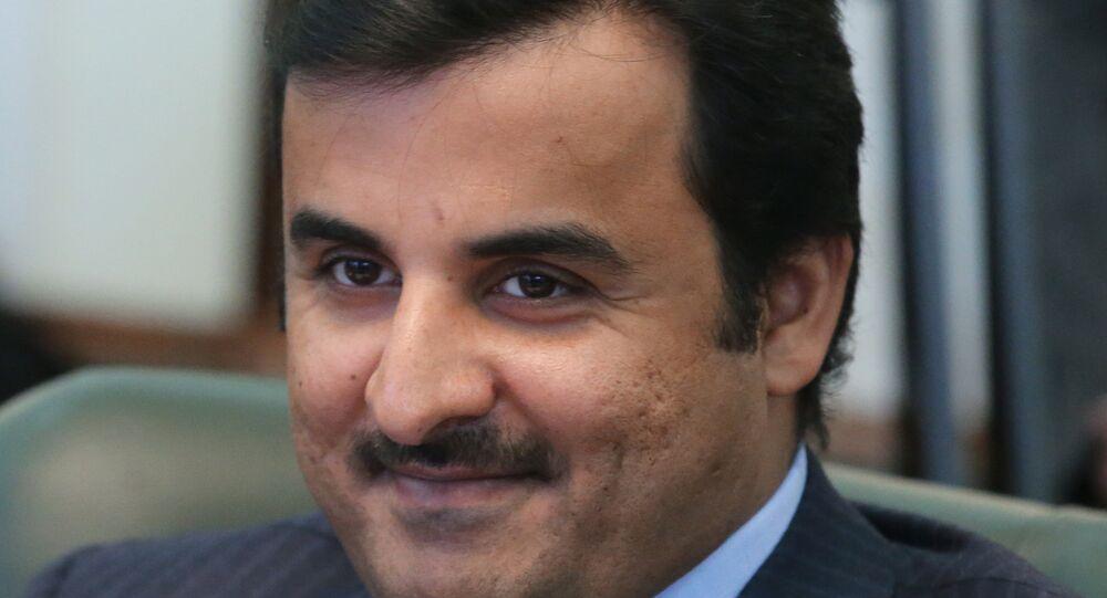 أمير قطر