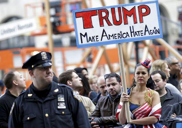 مناوئون لدونالد ترامب في نيويورك