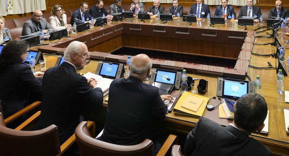 المحادثات في جنيف