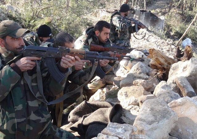 ريف اللاذقية - الجيش السوري