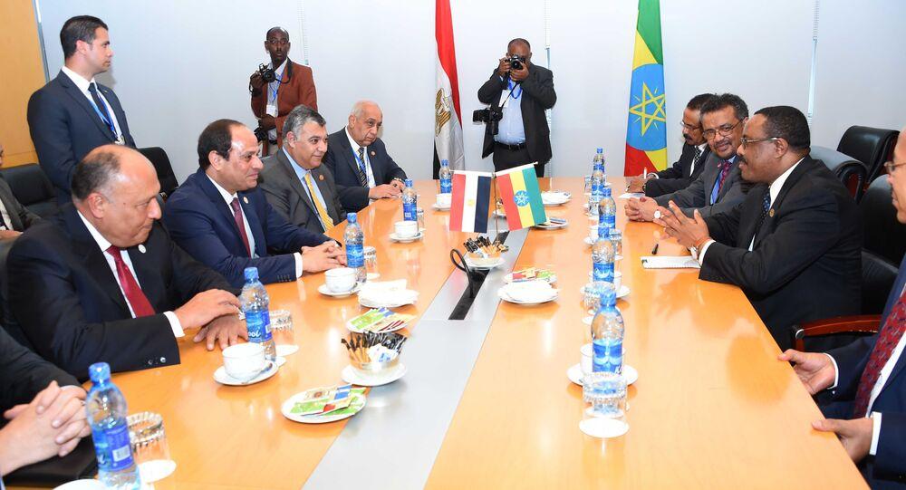 رئيس وزراء إثيوبيا ـ الرئيس المصري