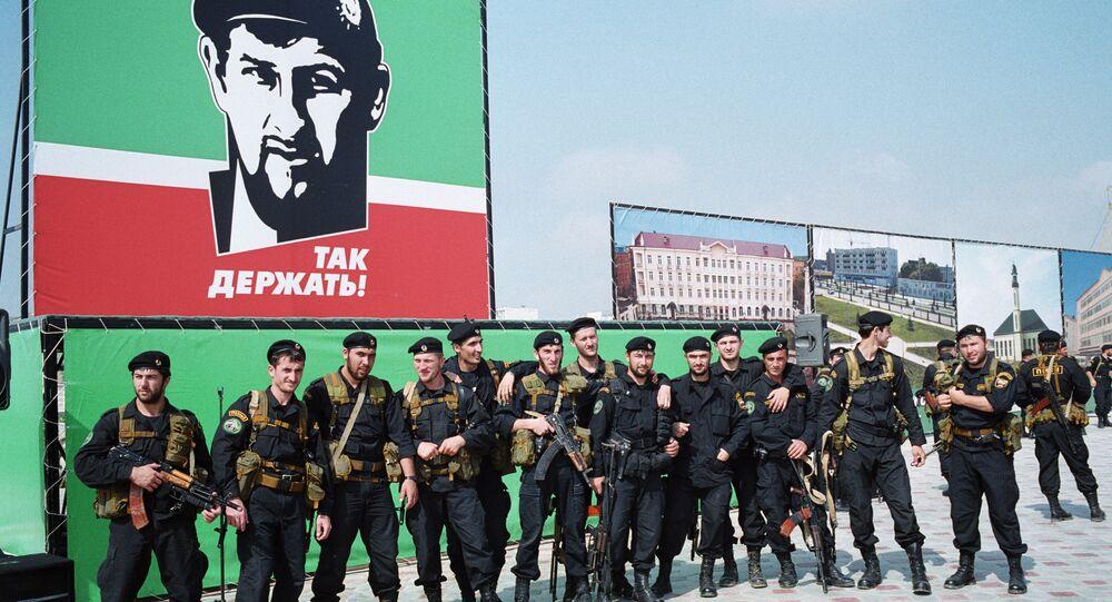 القوات الخاصة الشيشانية
