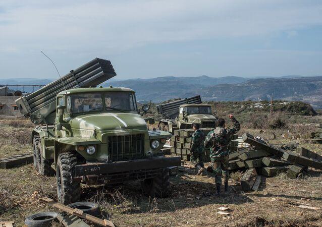 هجوم الجيش العربي السوري في إدلب