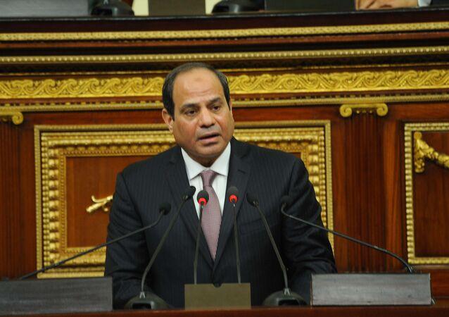 خطاب السيسي في البرلمان
