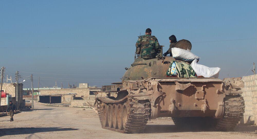 ريف حلب والجيش السوري