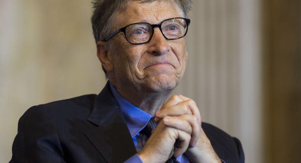 بيل غيتس - رجل أعمال أمريكي