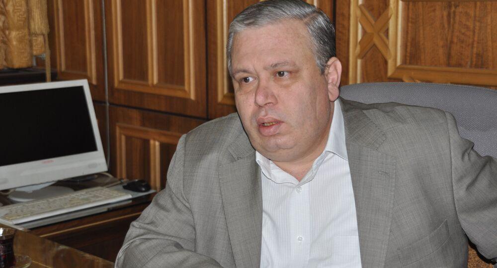 وزير العدل السوري نجم الاحمد