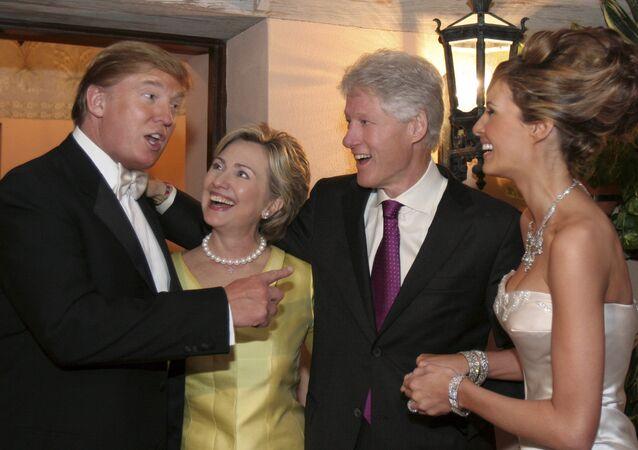 ترامب وكلينتون